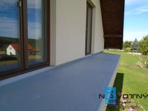 mpvc folie hydroizolace balkon chaloupky06
