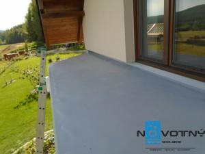mpvc folie hydroizolace balkon chaloupky08